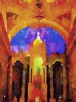 Cathedral Interior Fine Art Print