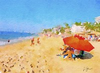 Golden Sands Fine Art Print