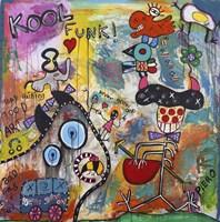 Kool funk Fine Art Print