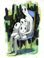 Ghost Kids Fine Art Print