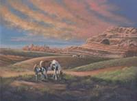 Paints Out West Fine Art Print