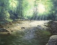 River Dance Fine Art Print