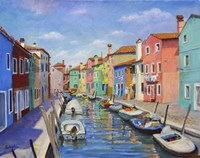 Colorful Burano Fine Art Print