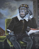 Master William Shakespeare Fine Art Print
