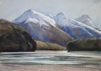 Dart River Valley, Paradise Fine Art Print