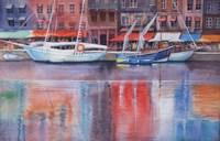 Honfleur Le Vieux Port Fine Art Print