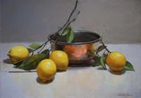 Still Life with Lemons Fine Art Print