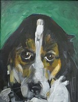 Conan Dog Fine Art Print