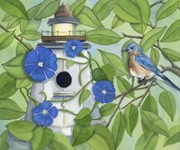 Bird Lighthouse Fine Art Print