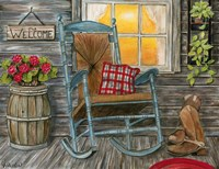 Front Porch Fine Art Print