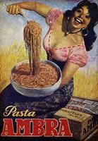 Pasta Ambra Fine Art Print
