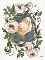 Vintage Frame Chick Fine Art Print