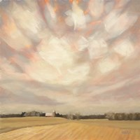 Wintry Field Fine Art Print
