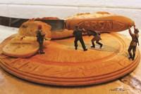 Army Bread Fine Art Print