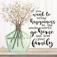 Spring - Love Your Family Fine Art Print