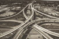 Highway Crossing Fine Art Print
