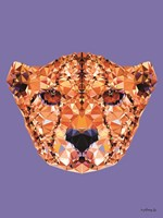 Geometric Cheetah Fine Art Print