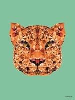 Geometric Leopard Fine Art Print