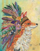 Tribal Fox Fine Art Print