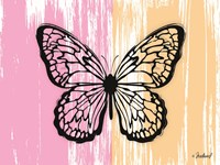 Happy Butterfly Fine Art Print