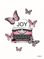 Joyful Typewriter Fine Art Print