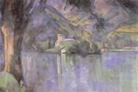 Le Lac Annecy Fine Art Print