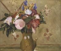 Flowers in a Vase, 1886 Fine Art Print