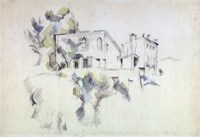 View of the Chateau Noir Fine Art Print