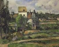 Landscape in Auvers Fine Art Print