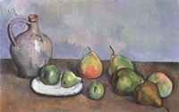 Still Life with Pitcher and Fruit Fine Art Print