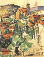 Village of Gardanne, 1885 Fine Art Print