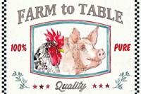 Farm Signs I Fine Art Print