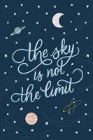 Sky is not the limit Fine Art Print