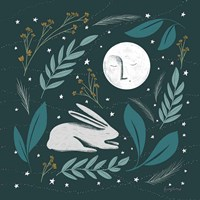 Sweet Dreams Bunny III Fine Art Print