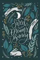 Sweet Dreams Bunny II Fine Art Print