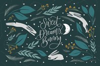 Sweet Dreams Bunny I Fine Art Print
