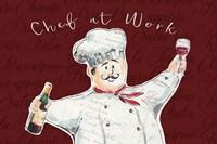 Chef at Work II Fine Art Print