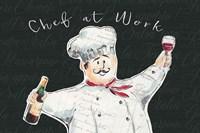 Chef at Work I Fine Art Print
