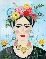 Homage to Frida II Fine Art Print