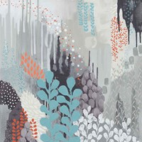 Gray Forest II Fine Art Print