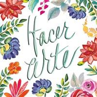 Fridas Flower Fancy III Fine Art Print