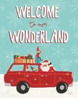 Holiday Travelers IV Wonderland Fine Art Print