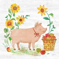Farm Market IV Fine Art Print