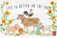 Farm Market I Fine Art Print