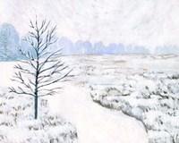 Frozen River Study I Fine Art Print