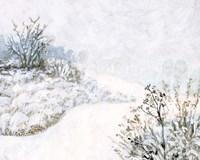 Frozen River Study II Fine Art Print