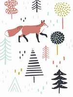 Fox Forest I Fine Art Print