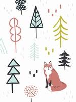 Fox Forest II Fine Art Print