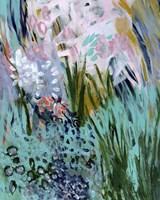 Opulent Floral Strokes I Fine Art Print