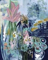 Opulent Floral Strokes II Fine Art Print